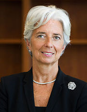 Portrait of Christine LaGarde (click to view image source)