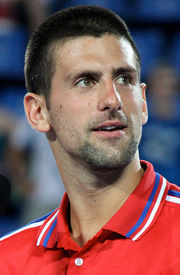 Portrait of Novak Djokovic (click to view image source)