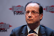 Portrait of François Hollande (click to view image source)
