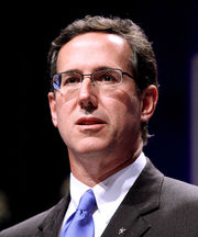 Portrait of Rick Santorum (click to view image source)