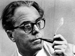 Portrait of Max Frisch (click to view image source)