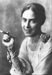 Portrait of Toni Wolff  (click to view image source)