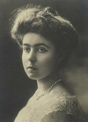 Portrait of Crown Princess of Sweden Margaret (click to view image source)