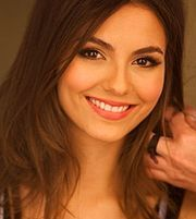 Portrait of Victoria Justice (click to view image source)