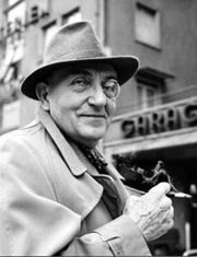 Portrait of Fritz Lang (click to view image source)