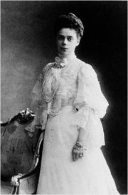 Portrait of Grand Duchess of Russia Xenia  (click to view image source)
