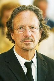 Portrait of Peter Handke (click to view image source)