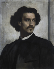 Portrait of Anselm Feuerbach (click to view image source)