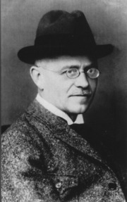 Portrait of August Horch (click to view image source)