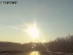 Portrait of Nature: Meteorite strike  (click to view image source)