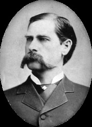 Portrait of Wyatt Earp (click to view image source)