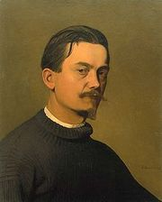 Portrait of Felix Vallotton (click to view image source)
