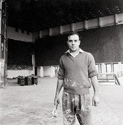 Portrait of Yves Klein  (click to view image source)