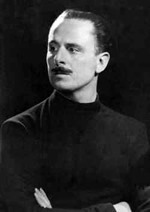 Portrait of Oswald Mosley  (click to view image source)