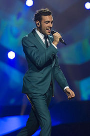 Portrait of Marco Mengoni  (click to view image source)