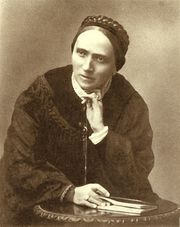 Portrait of Luise Büchner  (click to view image source)