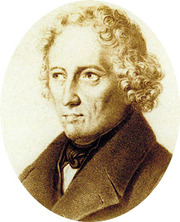 Portrait of Jacob Grimm  (click to view image source)