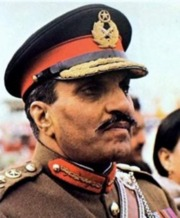 Portrait of Muhammad Zia-ul-Haq (click to view image source) - thumb062266