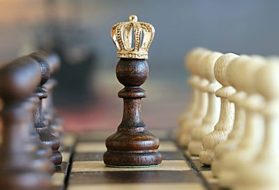 Pawn as king
