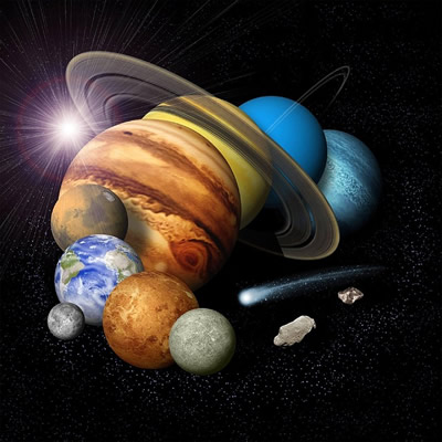 The Seven Traditional Planets and Mathematical Principles