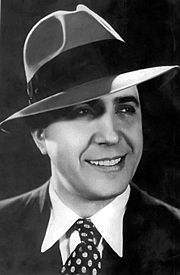 Portrait of Carlos Gardel (click to view image source)