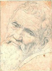 Portrait of Michelangelo  (click to view image source)