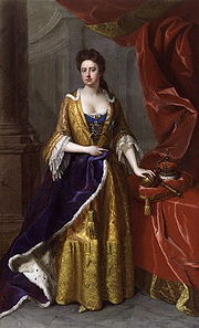 Portrait of Queen of Britain Anne (click to view image source)