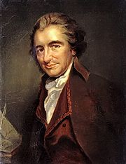 Portrait of Thomas Paine (click to view image source)