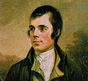 Portrait of Robert Burns (click to view image source)