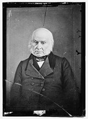 Portrait of John Quincy Adams (click to view image source)