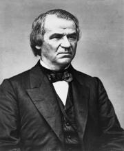 Portrait of Andrew Johnson (click to view image source)