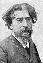 Portrait of Alphonse Daudet (click to view image source)