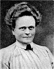 Portrait of Elsie Inglis (click to view image source)