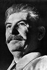 Portrait of Joseph Stalin (click to view image source)