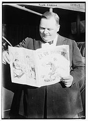 "Portrait of ""Fatty"" Arbuckle (click to view image source)"