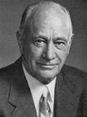 Portrait of Conrad Hilton  (click to view image source)