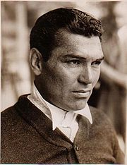 Portrait of Jack Dempsey  (click to view image source)