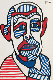 Portrait of Jean Dubuffet  (click to view image source)