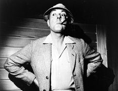 Portrait of Jacques Tati  (click to view image source)