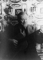 Portrait of Burl Ives (click to view image source)