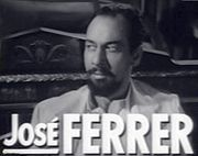 Portrait of Jose Ferrer (click to view image source)