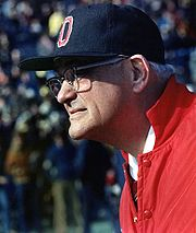 Portrait of Woody Hayes (click to view image source)
