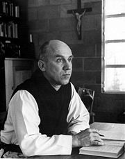 Portrait of Thomas Merton (click to view image source)
