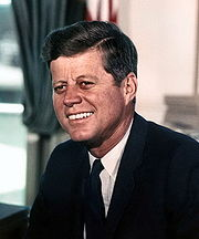 Portrait of John F. Kennedy (click to view image source)