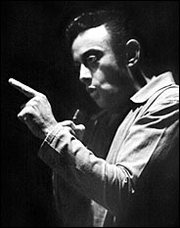 Portrait of Lenny Bruce  (click to view image source)