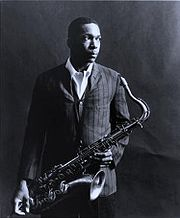 Portrait of John Coltrane  (click to view image source)