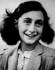 Portrait of Anne Frank  (click to view image source)