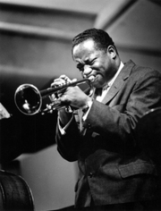 Portrait of Clifford Brown  (click to view image source)
