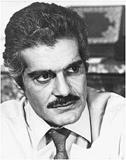 Portrait of Omar Sharif  (click to view image source)