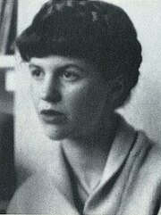 Portrait of Sylvia Plath (click to view image source)